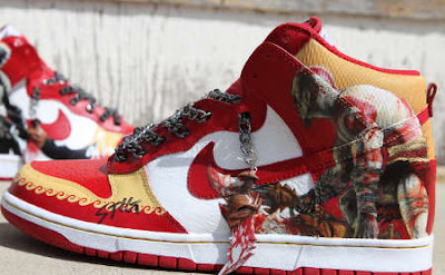 Zapatilla Nike Kratos God of War