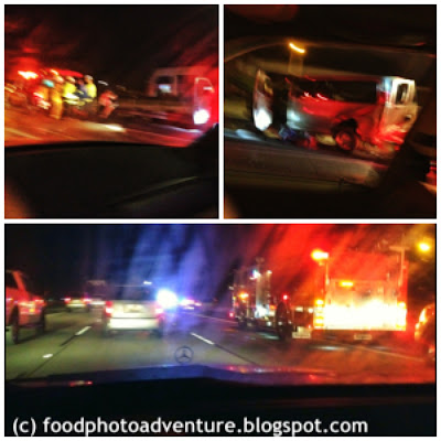 Car Accident on Northbound 101 in Ventura 6 December 2012