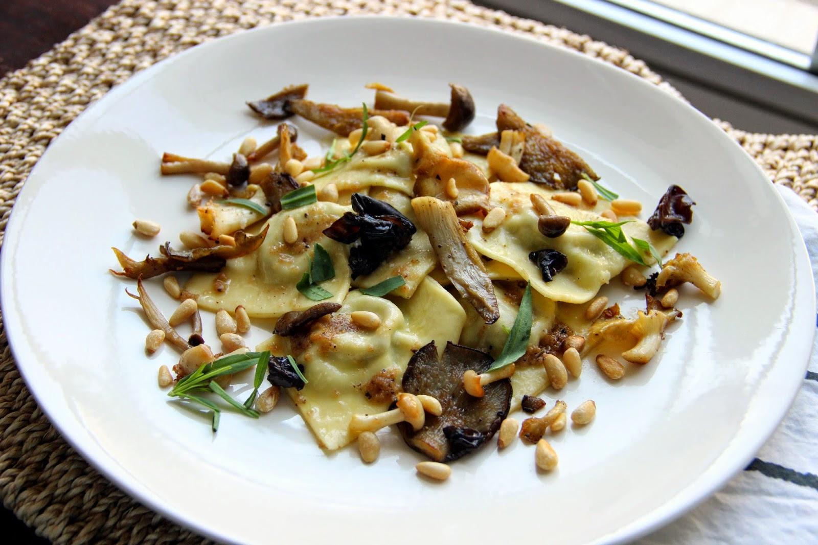 Mushroom Ravioli Filling