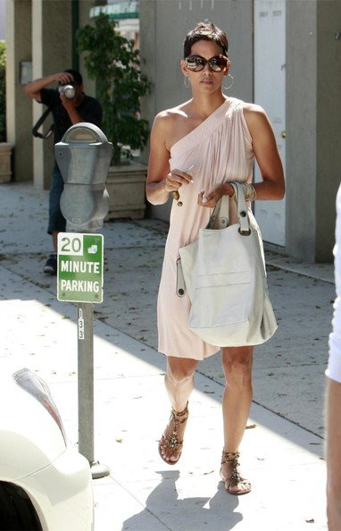 Wedding Updo Hairstyle Halle Berry Short Pixie Boy Haircut