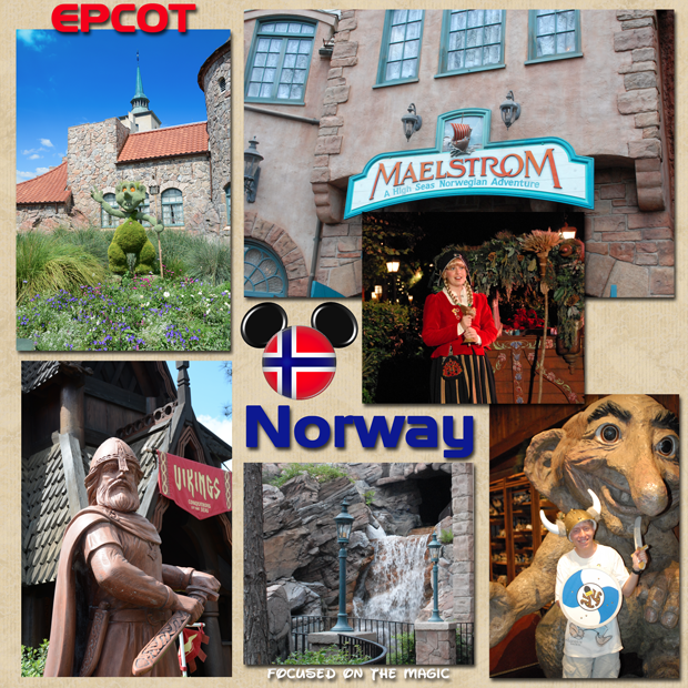 Norway Pavilion, Maelstrom, Epcot