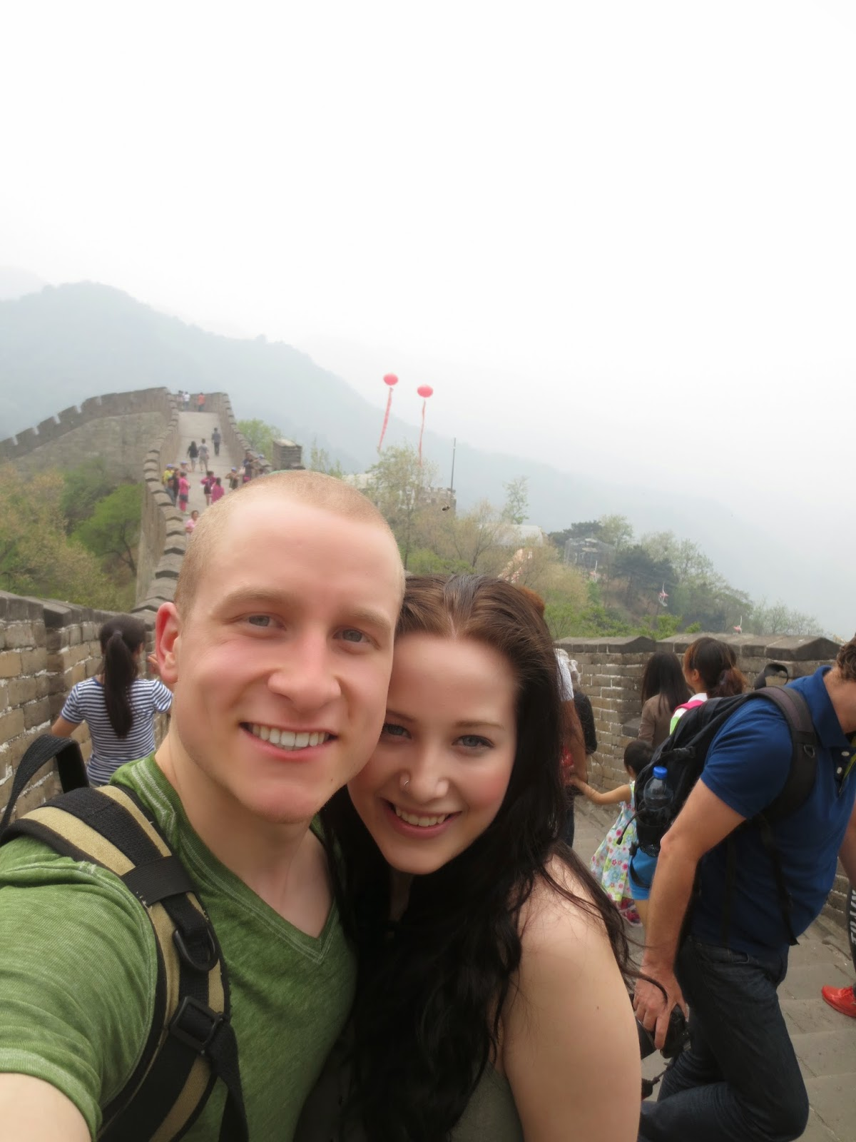 Laura & Dylan at Mutianyu Great Wall