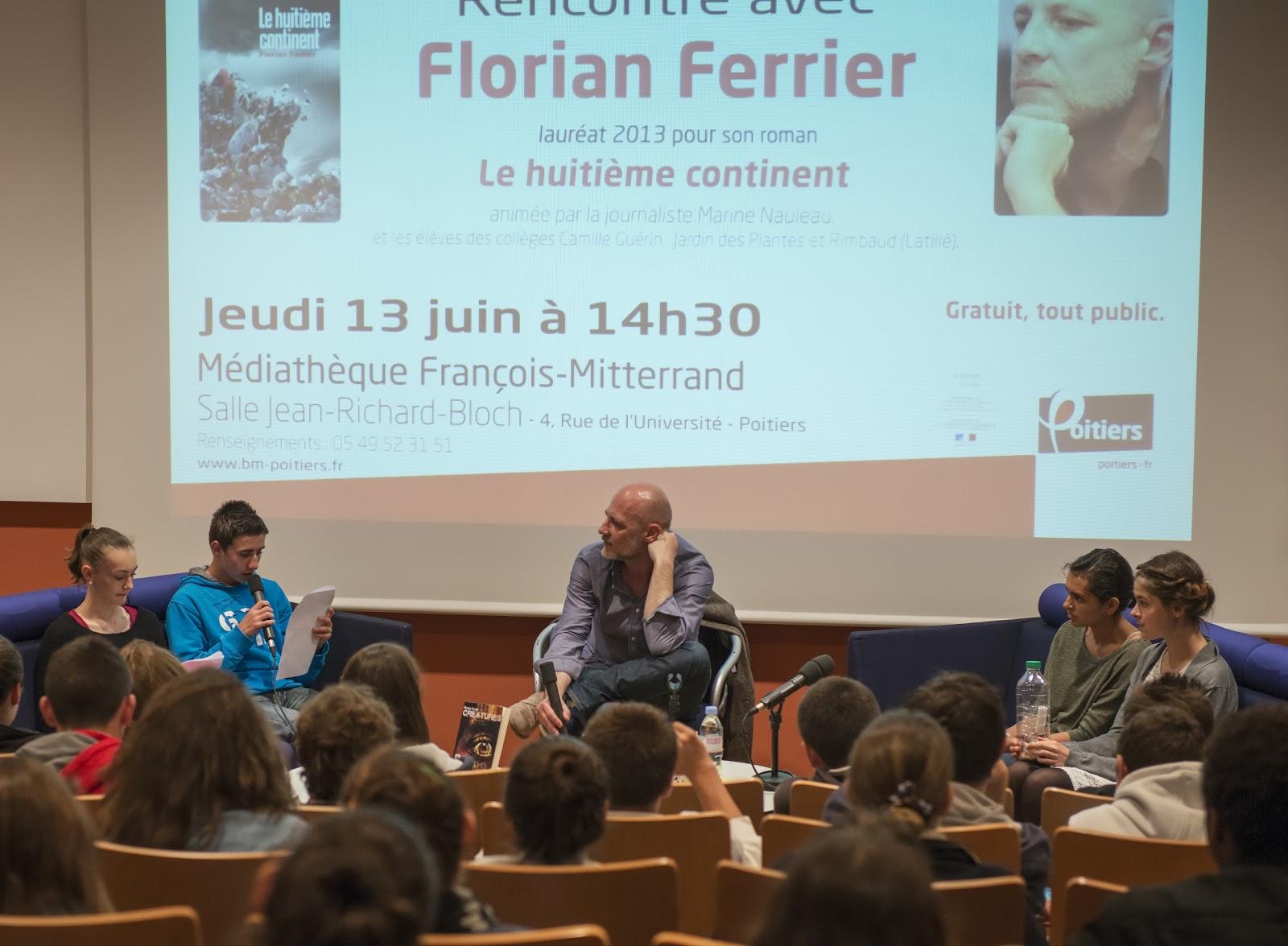 D blog pas remise du prix du roman contemporain - College du jardin des plantes poitiers ...