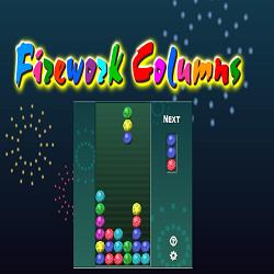 Firework Columns Game