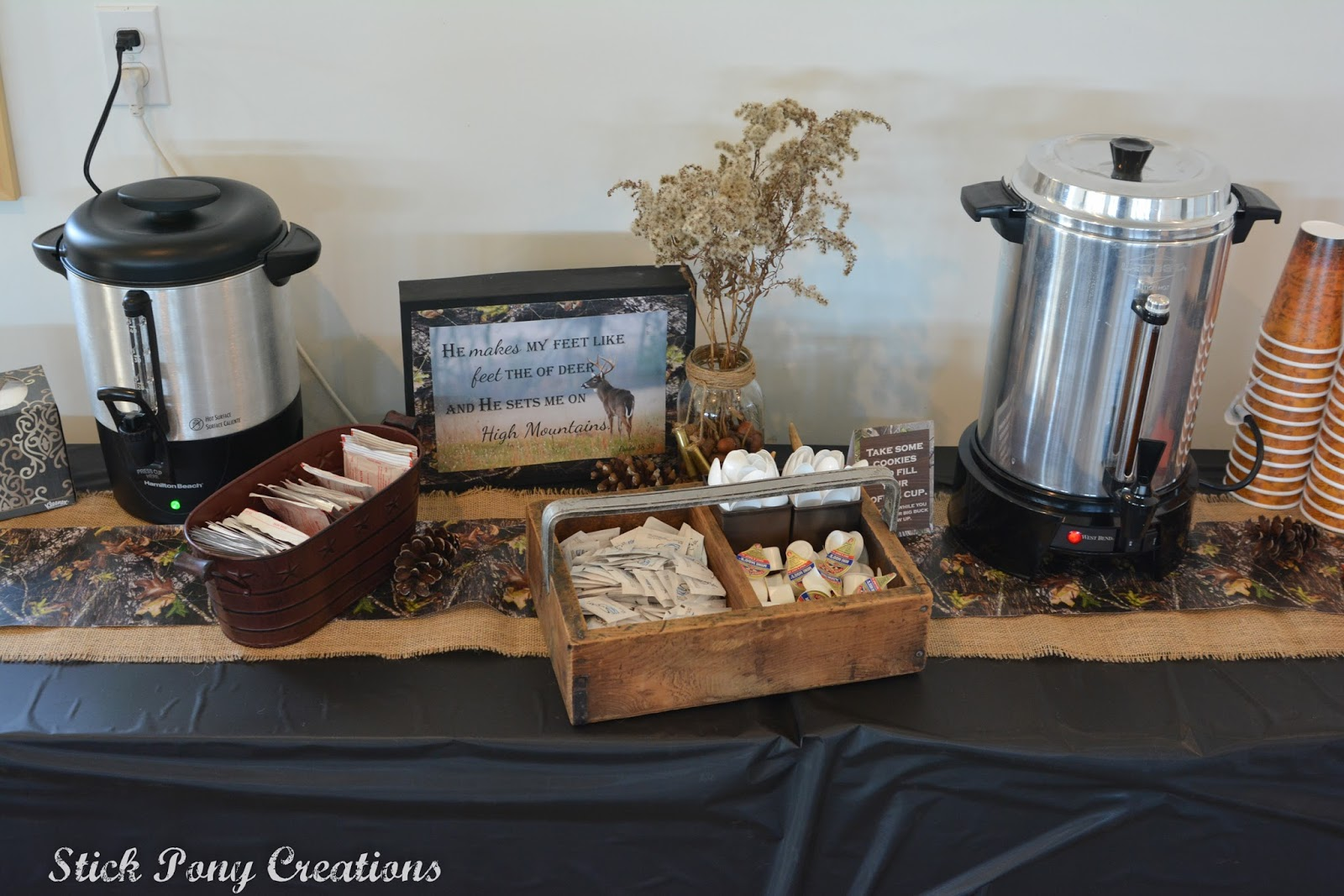Hot Coffee And Chocolate Greet The Hunters