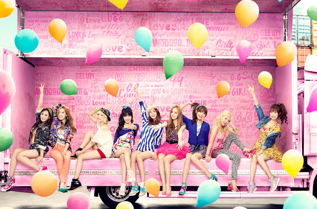[Official Picture] 130517 Girls' Generation 7th Japanese Single 'LOVE&GIRLS'