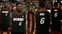 NBA 2K14 Heat Away Jersey