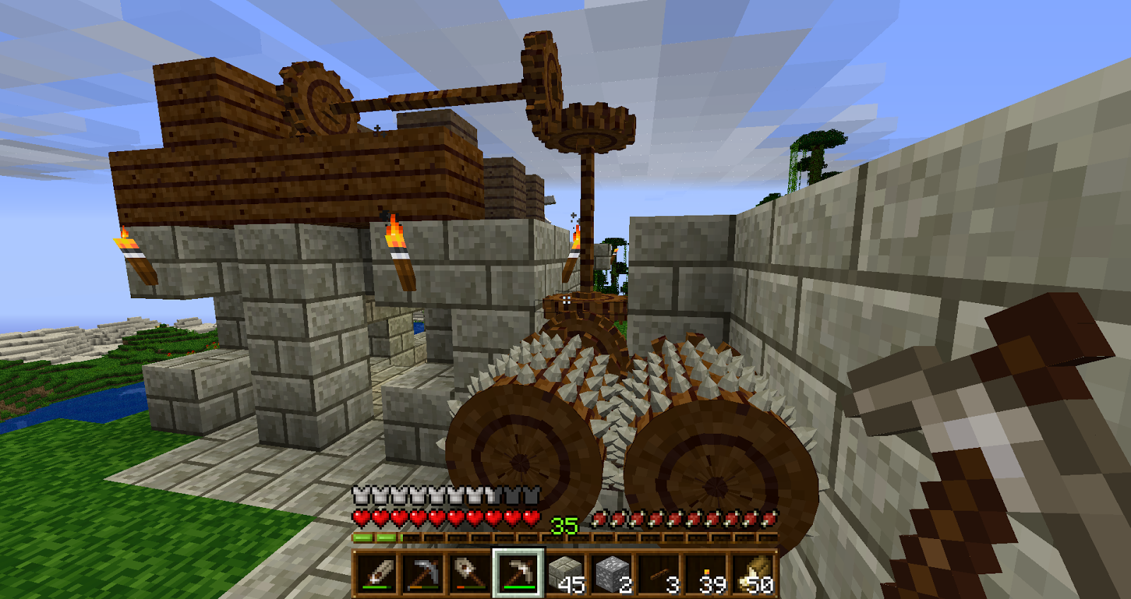 Displaying 16> Images For - Minecraft Water Wheel...
