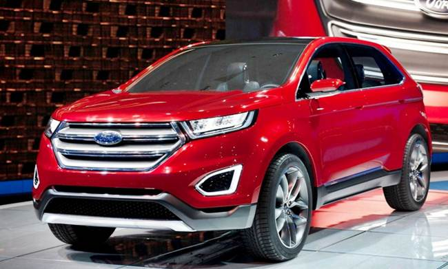 Ford Edge Titanium Redesign
