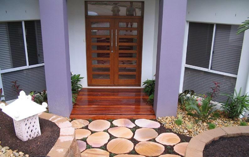 contoh teras modern terbaru, gambar teras modern terbaru