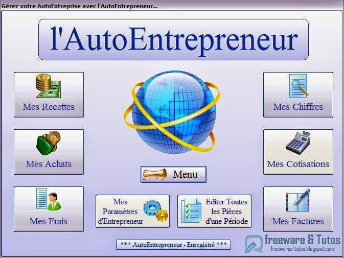 L 39 autoentrepreneur un logiciel gratuit pour g rer for Logiciel garage auto entrepreneur