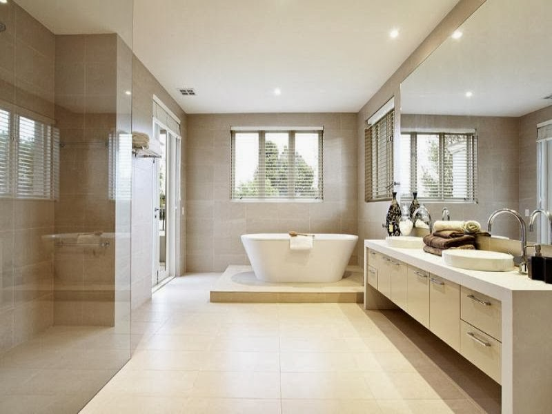 modern bathroom design 2013 clean lined easy elegant