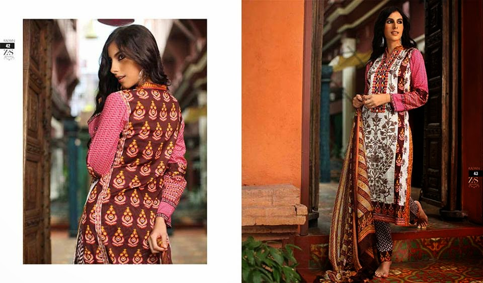 Designer Kalyan short summer lawn collection