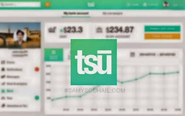 تعرّف على شبكة Tsu.co البديل لموقع فيسبوك و كيفية ربح الأموال منه