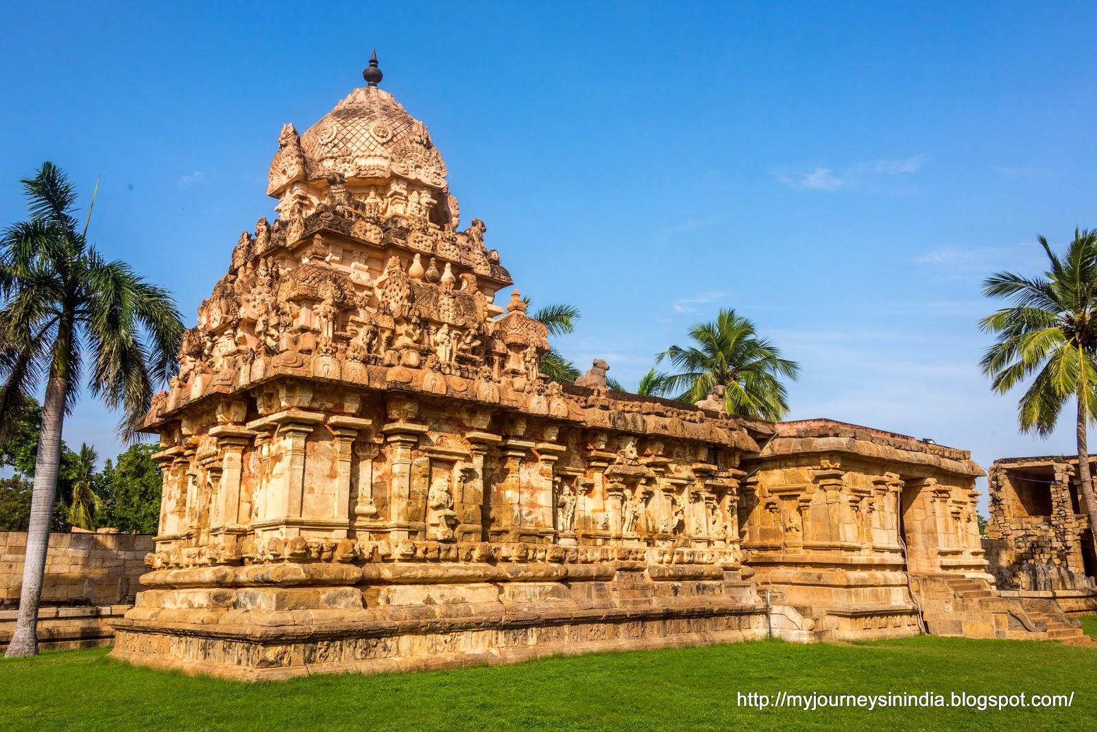 Gangaikondacholapuram inner temple