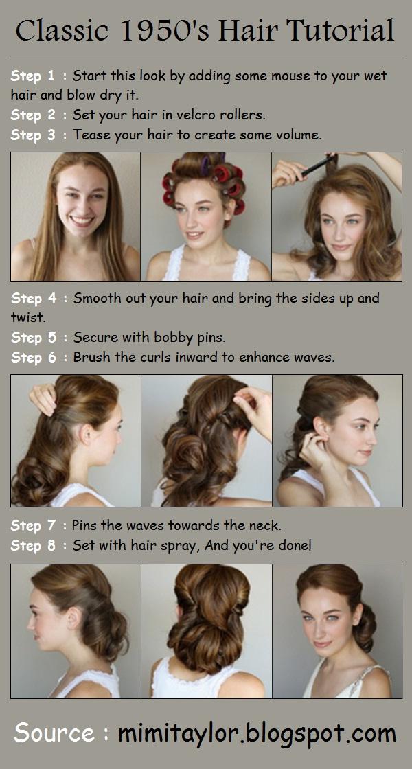1950s Hair