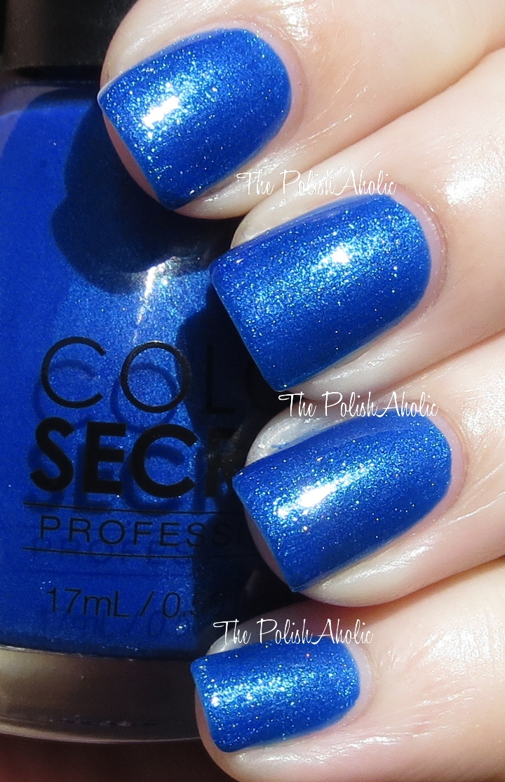 The PolishAholic: Color Secrets Swatches & Review