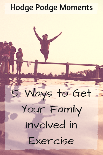 5 Ways to Get Your Family Involved in Exercise