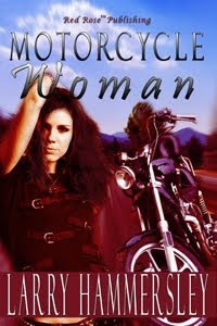 Motorcycle Woman Larry Hammersley