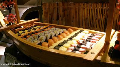La Fiesta at MOA sushi boat