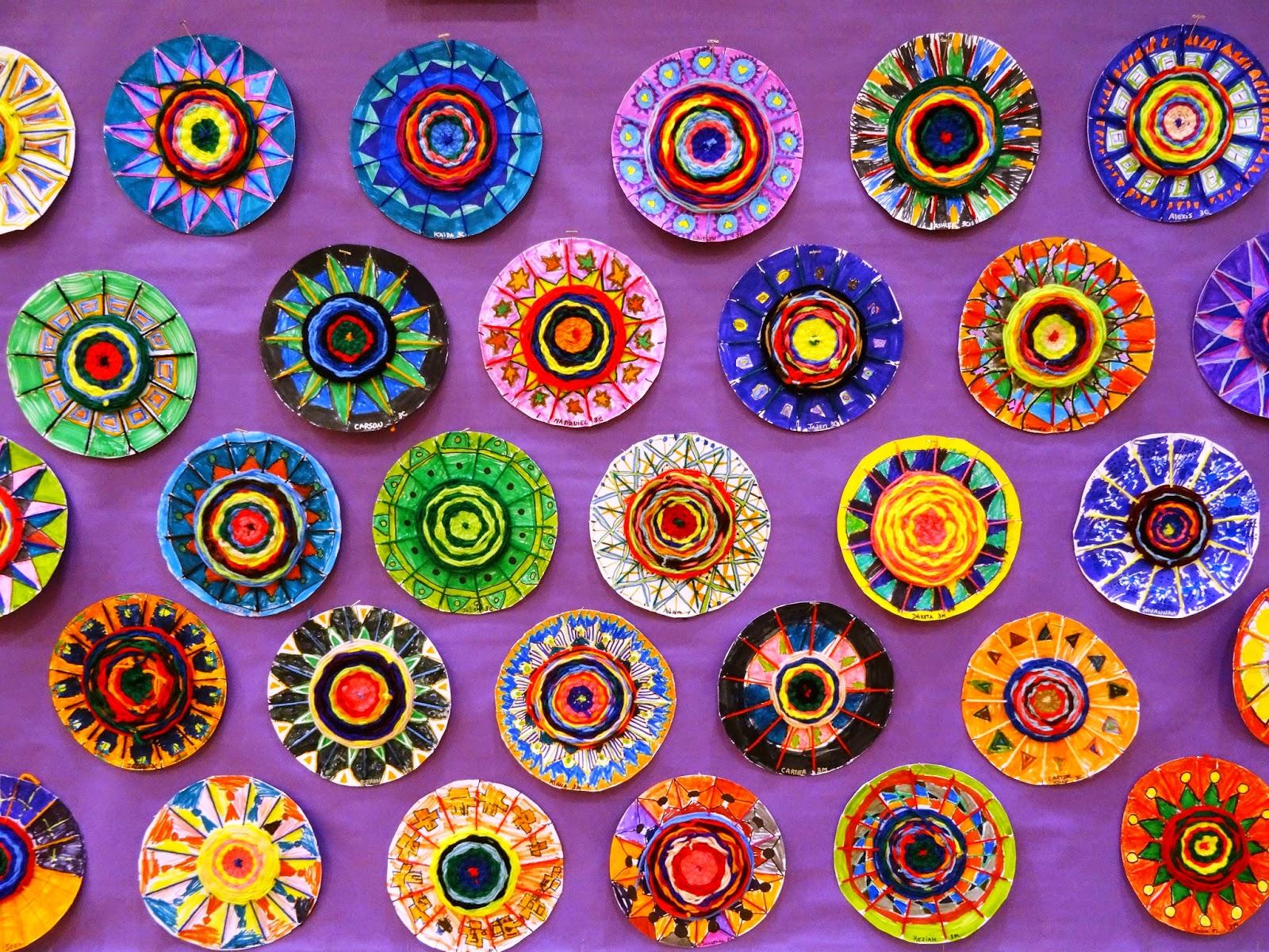 A High School Studio In Art 9th Grade Color Harmony Project