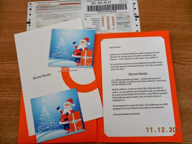 Secret Santa cu #livrarespeciala TNT