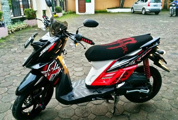 Modif Simple Yamaha X Ride