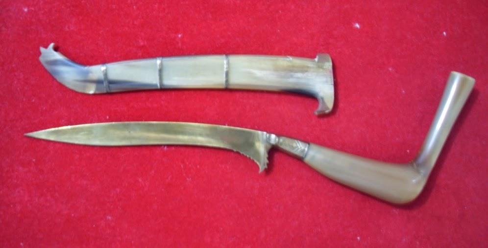 Senjata Tradisional Aceh adalah Rencong (Reuncong)