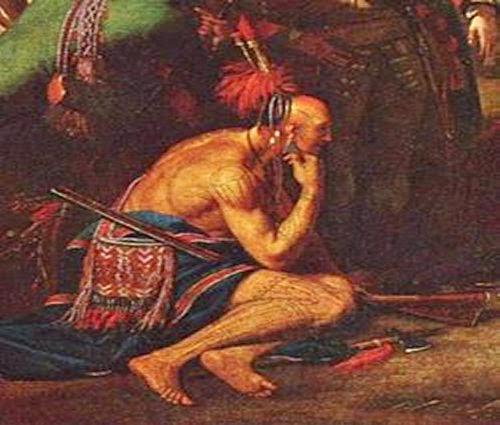 Painting FIW Abenaki Indians picture 1