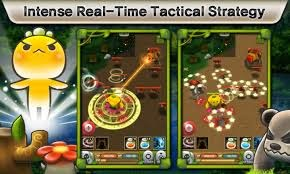 Game RTS Android Seru