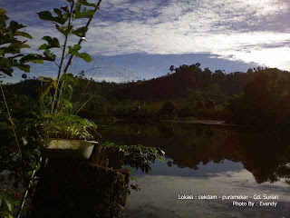 Cekdam Jaya Puramekar Gedung Surian Lampung Barat