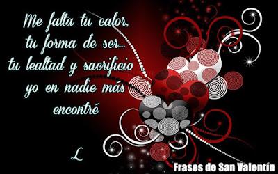 Tarjetas con mensajes para el día de los enamorados,Dia del amor