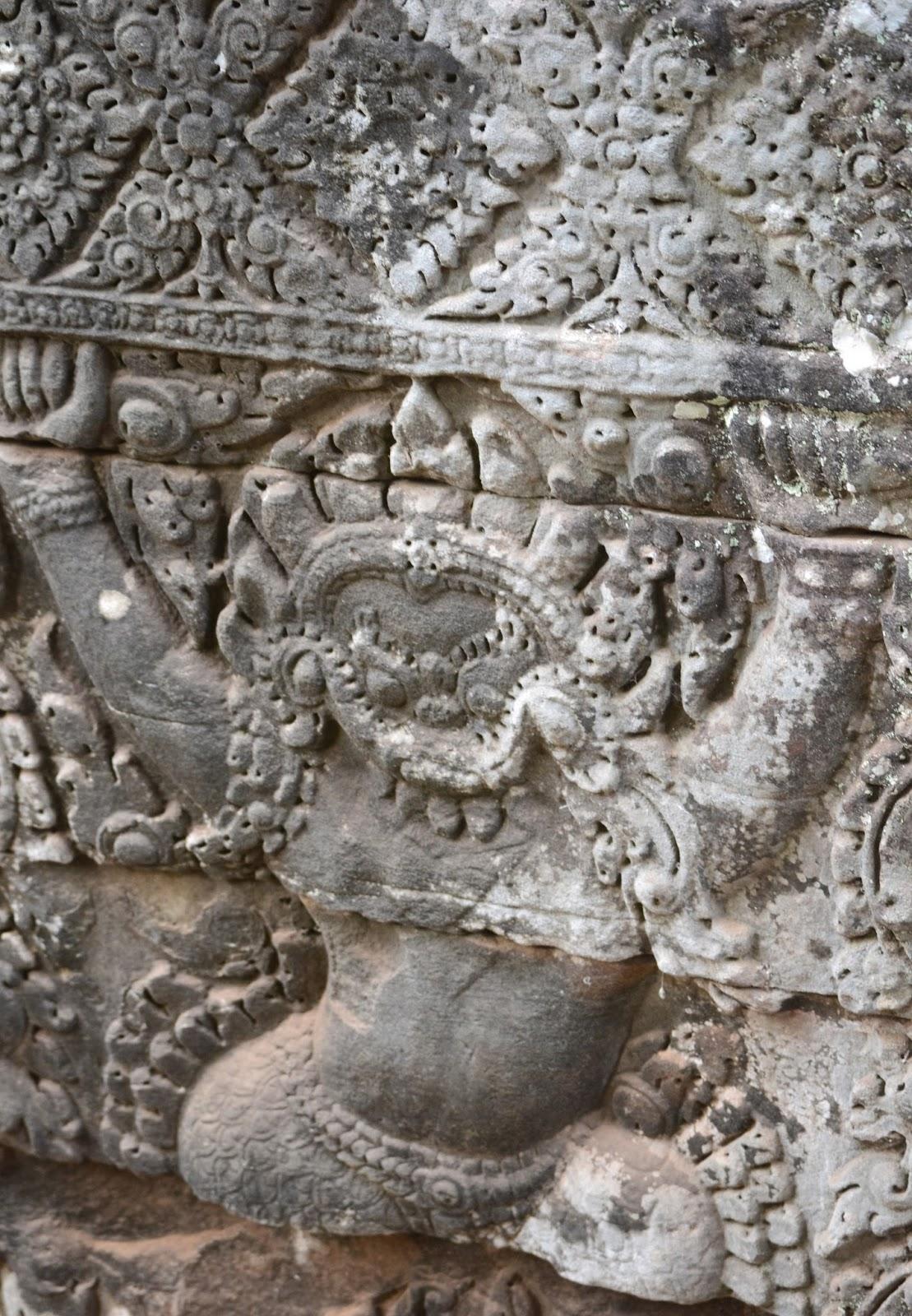 Bayon Temple Angkor Wat Siam Reap Cambodia