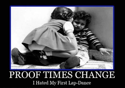 i hated my first lapdance