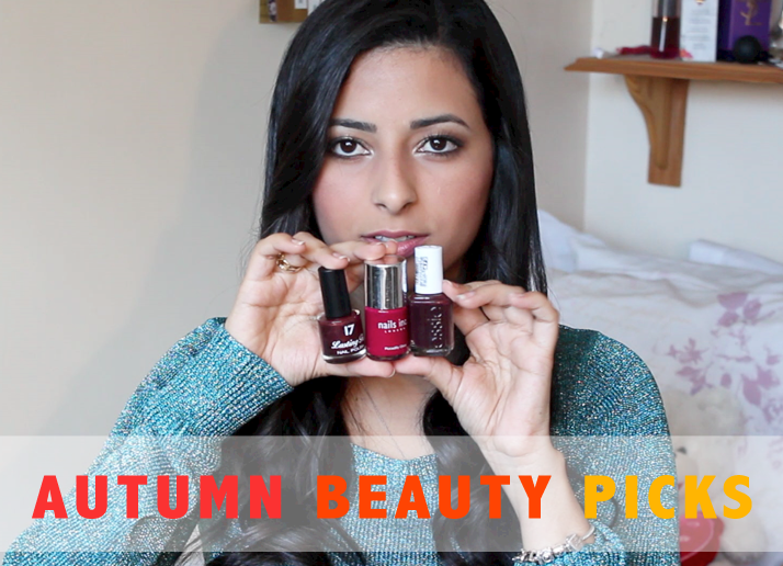Autumn / Fall Beauty Picks (Video) | Le Beauty Girl