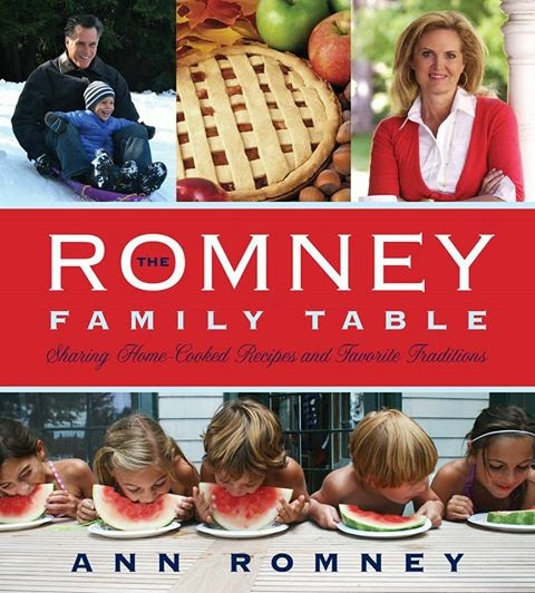 Ann Romney's Cookbook