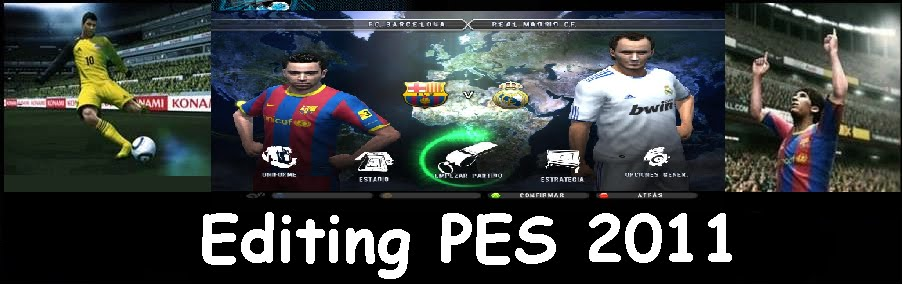 Editing Pes  2011