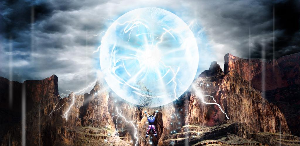 Makodroid dragon ball spirit bomb lwp - Goku kamehameha live wallpaper ...