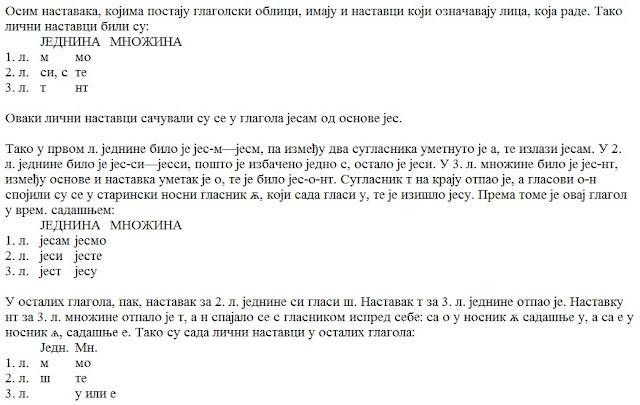 gramatika srpskog jezika za skolu