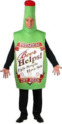 Beer Bottle Fancy Dress Costume