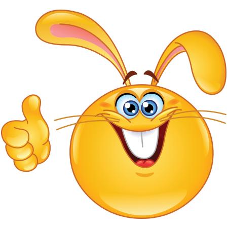 Rabbit smiley