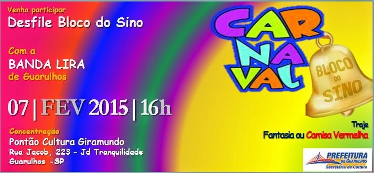Bloco do Sino Carnaval 2015