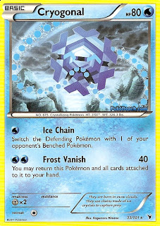 Cryogonal Pokemon Card Noble Victories Set
