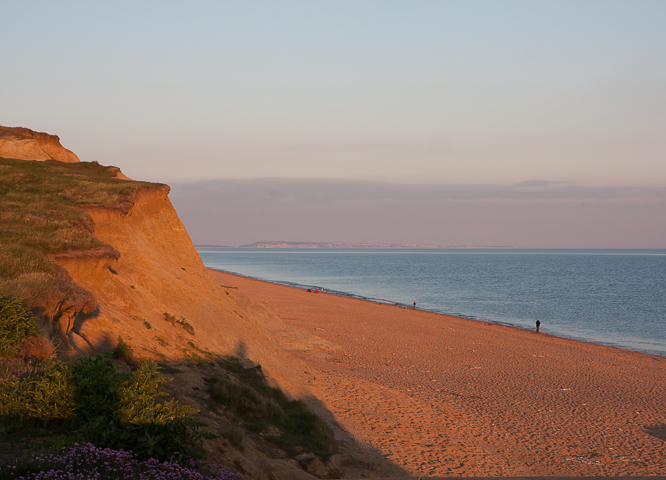 Views over Burton Bradstock Beach - Hive Beach House, Dorset