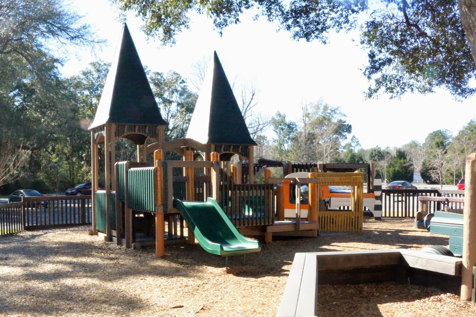 Tot Park for ages 2-5 at Benny Russell Park, Pace, FL 32571