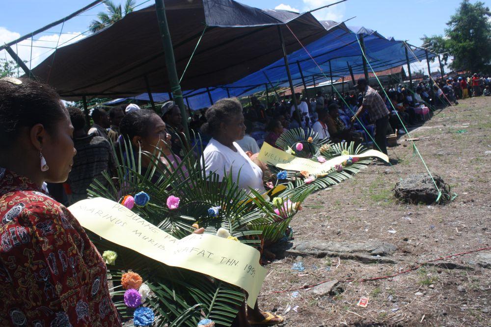 Ribuan Rakyat Papua di Nabire Rayakan HUT ke-50 Papua Barat