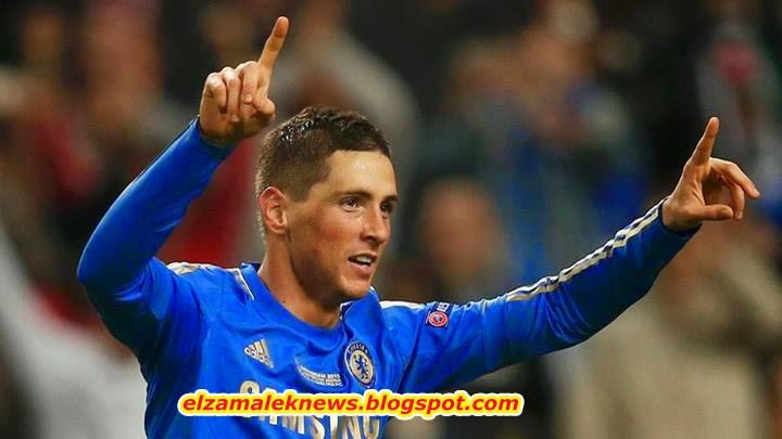 Fernando Torris striker of Chelsea