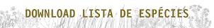 LISTA DE ESPÉCIES DISPONÍVEIS