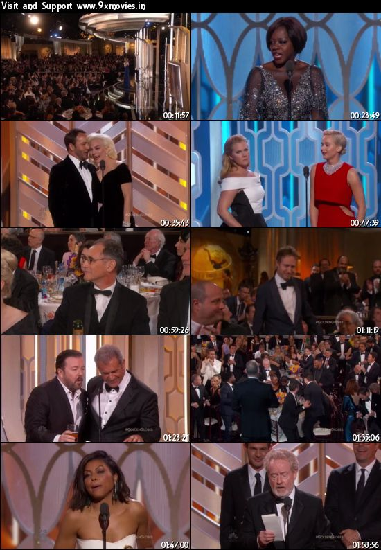 73rd Golden Globe Awards 2016 English 480p HDTV