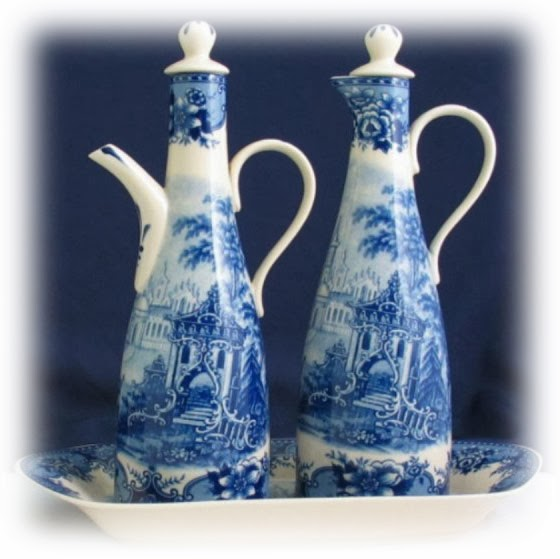 Blue & White Designs by Somerton Green